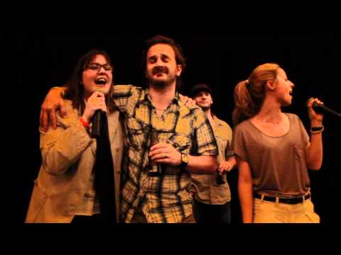 Boston Salute to Supernatural ConventionAlona Tal singing