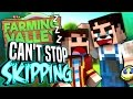 Minecraft Farming Valley #15 - Lewis Can't Stop Skipping