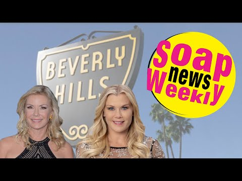 Katherine Kelly Lang opens a Beverly Hills boutique Plus Alison Sweeney returns to Days of our Lives