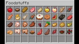 Eating Every Food in Survival Minecraft for Thanksgiving.  It was fun.