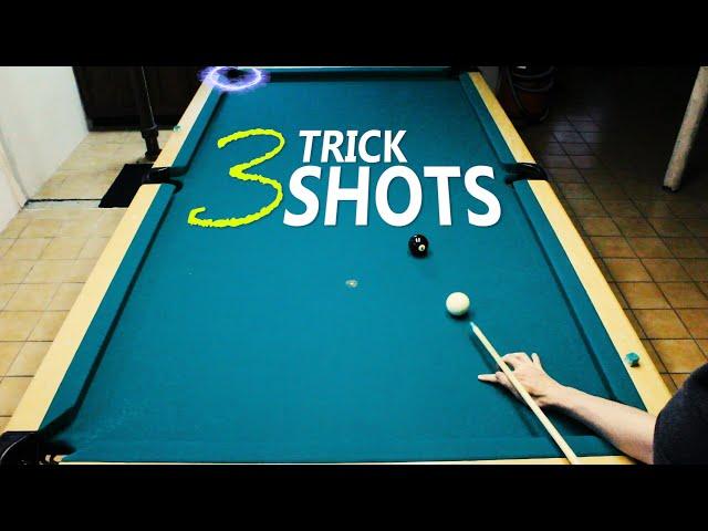 3 Pool Trick Shots: Volume 11