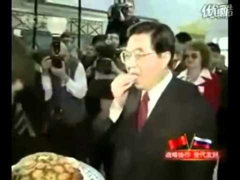 甜甜的——胡錦濤主席  President Hu Jintao
