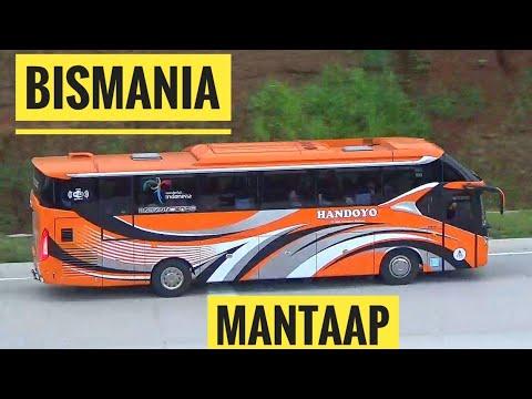 Bismania Mantap ! Ramainya Bis Bis Yang Melewati Tol Batang Semarang Meskipun Tol Ini Sudah Berbayar