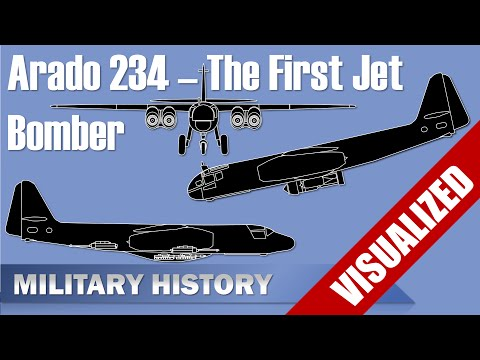 Arado Ar 234 - First Jet Bomber and Variants