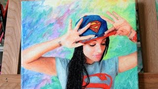 Painting Superwoman