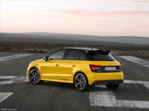 All New 2014 Audi S1 Sportback Yellow- Exterior Part 2