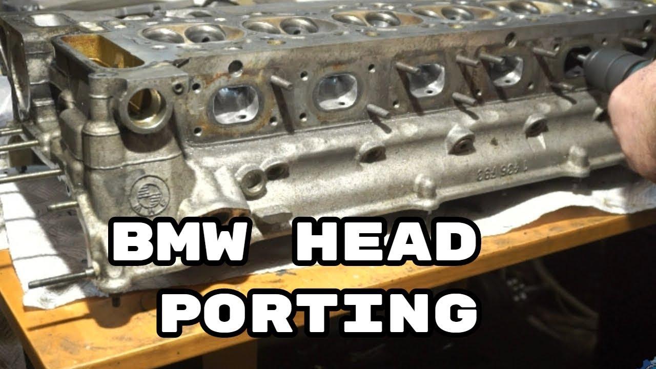 BMW M54 head small port & polish # Engine rebuild DIY and SWAP 8
