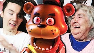 Five Nights at Freddy's JUMPSCARE GAME