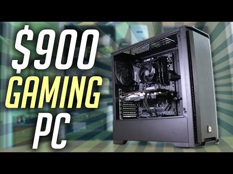$900 Gaming PC Build Guide! (2020)