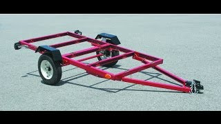 Mini Camper Built. Harbor Freight Trailer Build!