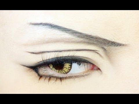 Tutorial Anime Eye Makeup 40 Youtube