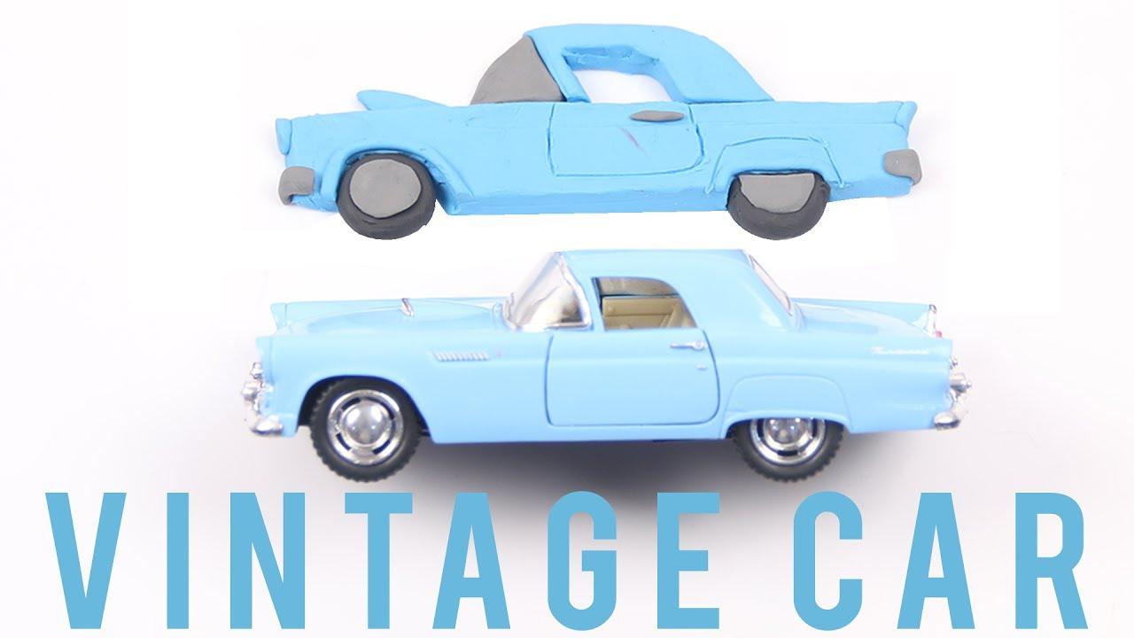Play Doh Vintage Car | Vintage Car For Kids | Kids Learning Videos ...