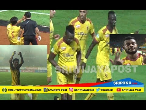 Cuplikan Selebrasi Pesta Gol Sriwijaya FC ke Gawang PSIS Semarang