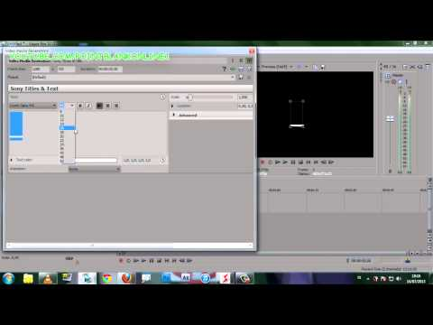 Full download sony vegas text effect 10 for Sony vegas effects download