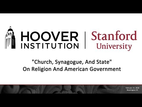 """""""Church, Synagogue, And State"""" - On Religion And American Government"""