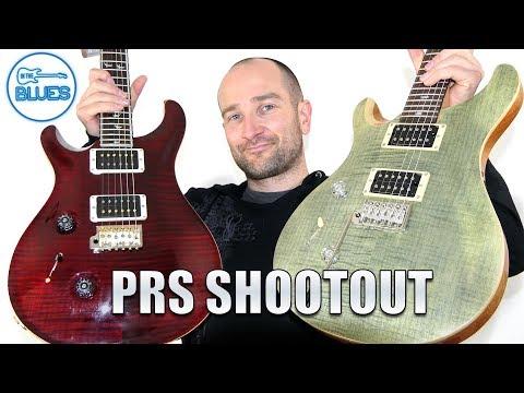 PRS SE Custom 24 vs PRS Custom 24