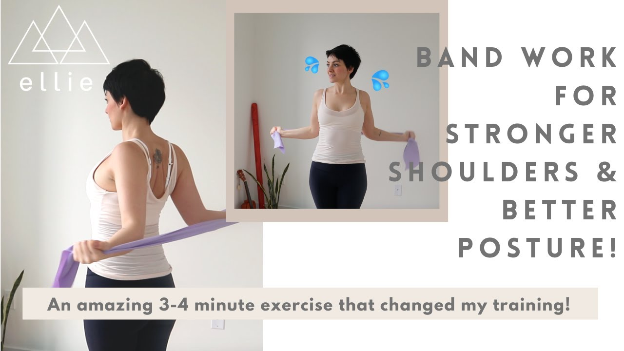 Band Work for Stronger Shoulders!