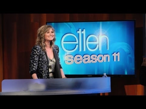 Jennifer Nettles Is Ellen's Guest DJ!