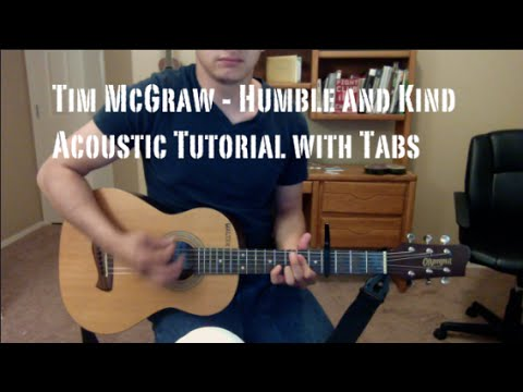 Tim McGraw - Humble and Kind (Guitar Lesson/Tutorial with Tabs)