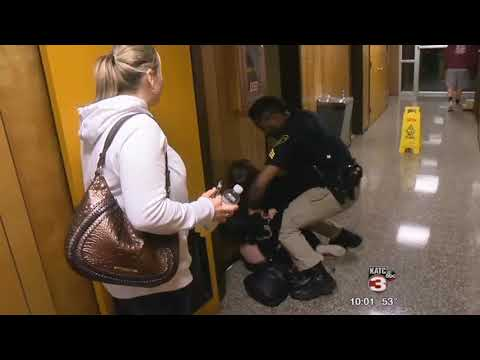 La  Teacher Thrown to Ground and Cuffed At School Board