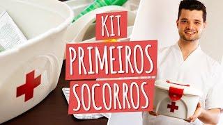 Como fazer KIT PRIMEIROS SOCORROS