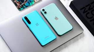 OnePlus Nord VS iPhone 11 - Which is BETTER?