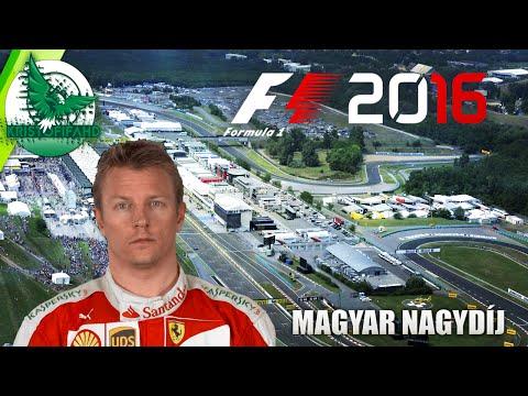 F1 2016 Magyar Nagydíj - Kimi Raikkönennel