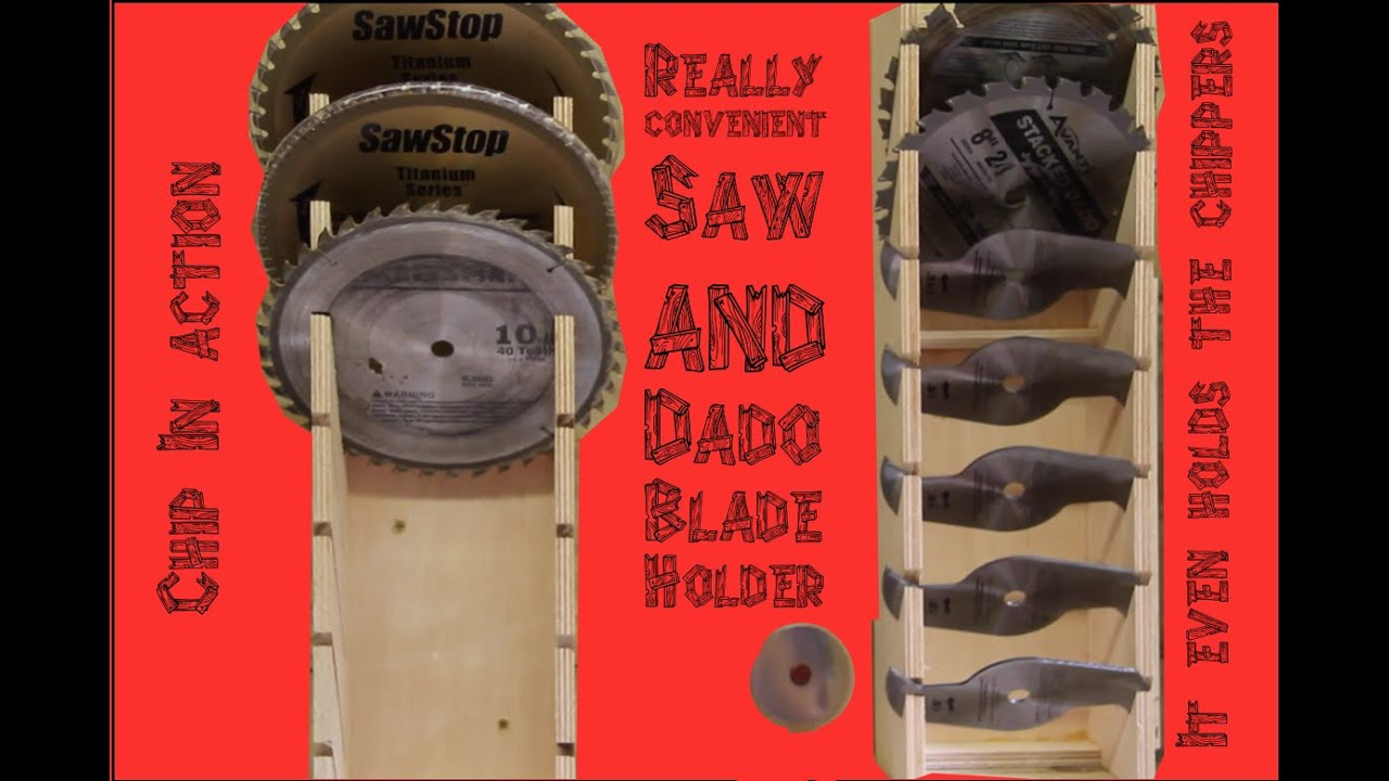 Saw and dado blade holder youtube greentooth Image collections