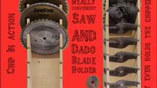 Saw And Dado Blade Holder
