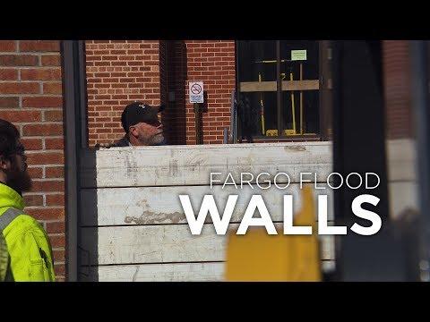 Fargo Flood Walls - 04.03.2019