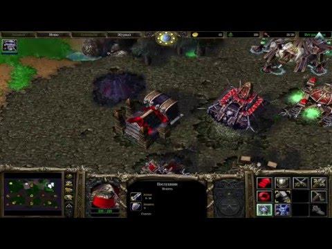 Warcraft III:The Frozen Throne, 1 на 1 против сильного компьютера, нежить (некроманты)  против людей
