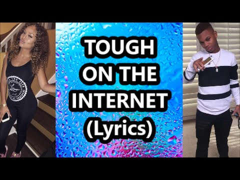 Lil Niqo Ft Miss Mulatto - Tough On The Internet (Lyrics)