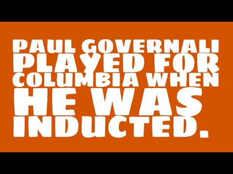 Who did Paul Governali play for?