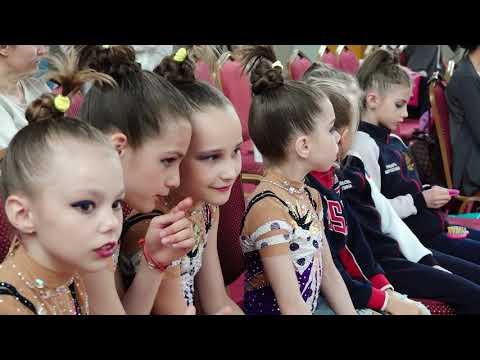 Открытый турнир по художественной гимнастике на призы Чемпионки Европы А.Ермаковой май 2018 г.