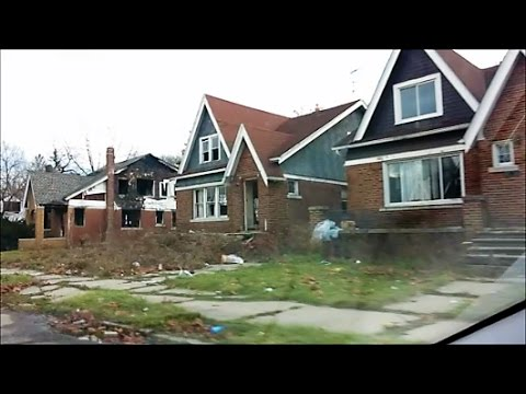 NICE HOMES GOING TO WASTE ON DETROIT'S EASTSIDE - YouTube