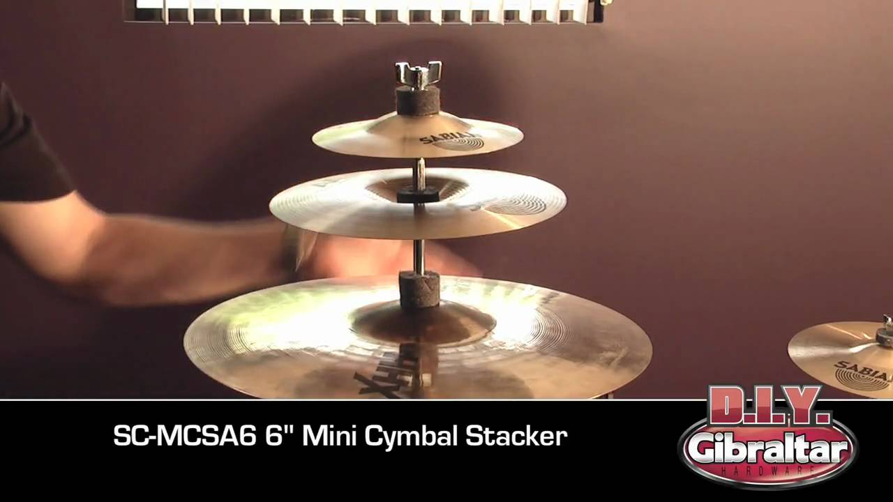 How To Make A Cymbal Tree For Multiple Splash Cymbals