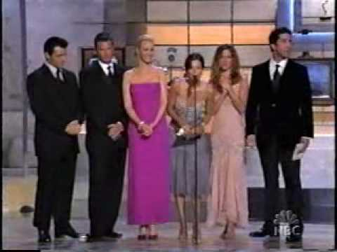 Friends Cast Presenting The Award For Best Supporting Actor In A Comedy Series At The 54th Emmy's