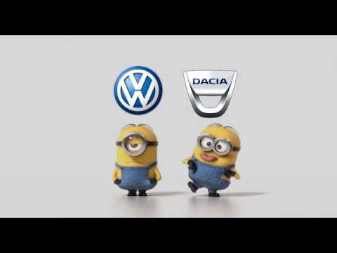 Volkswagen Vs Dacia (Funny Minions)