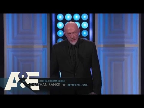 Jonathan Banks Wins Best Supporting Actor in a Drama Series = 2015 Critics' Choice TV Awards | A&E