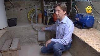 видео Небольшой погреб из бетонного кольца