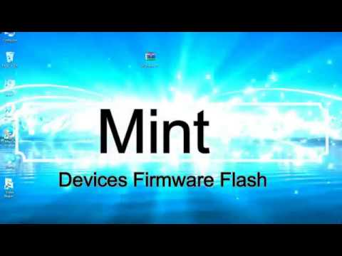 How to Flashing Mint firmware (Stock ROM) using Smartphone Flash Tool