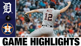 Download lagu Tigers vs. Astros Game Highlights (4/12/21) | MLB Highlights