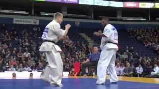 【新極真会】The 5th Karate World Cup MEN MIDDLE WEIGHT 1ST ROUND 12 Patel vs. Lisauskas