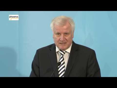Pressekonferenz mit Horst Seehofer und Jutta Cordt zum Familiennachzug am 06.04.18