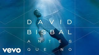 David Bisbal - Antes Que No (Audio)