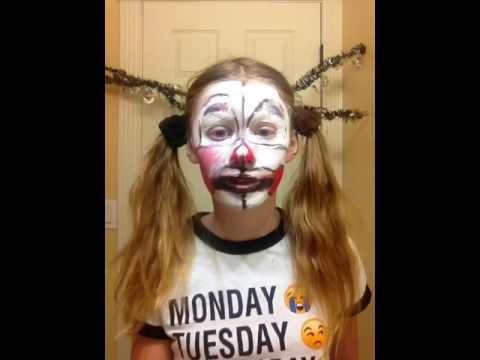 Sister location makeup tutorial part 2  FAIL! ❌🚫