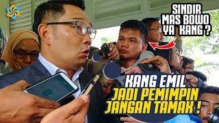 Download Video Prabowo  R3muk! Ridwan Kamil : Pemimpin Jangan Tamak, Harus Mandiri Ekonomi, Plakk!!! MP3 3GP MP4