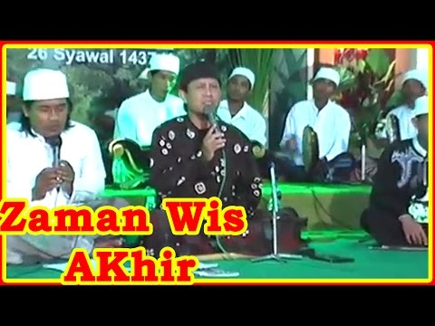 ZAMAN WIS AKHIR ❤ Jam'iyah Sholawat AJISOKO Music Orcestra ❤ Live Show Tuban 2016