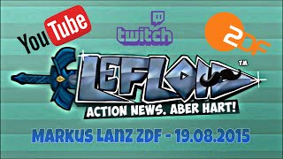 ZDF Youtuber LeFloid alias Florian Mundt - 19.08.2015 Full Video