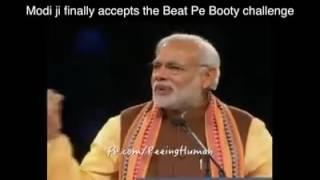Narendra Modi Ji singing Beat Pe Booty